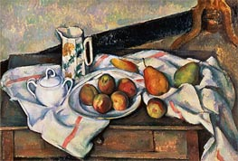 Peaches and Pears | Cezanne | Painting Reproduction