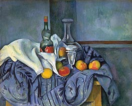 The Peppermint Bottle | Cezanne | Painting Reproduction