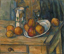 Still Life | Cezanne | Painting Reproduction