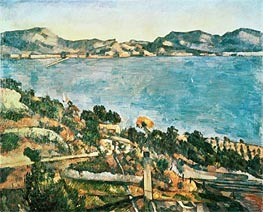The Sea at l'Estaque | Cezanne | Painting Reproduction