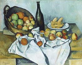 The Basket of Apples | Cezanne | Painting Reproduction