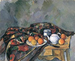 Still Life with a Teapot | Cezanne | Painting Reproduction