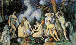 Nudes in Landscape | Cezanne | Painting Reproduction