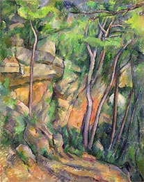 In the Park of Chateau Noir | Cezanne | Painting Reproduction