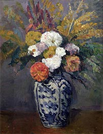Dahlias | Cezanne | Painting Reproduction