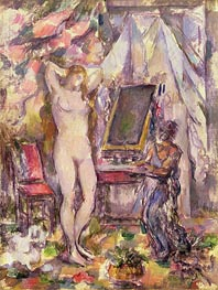 Interior with Nude | Cezanne | Painting Reproduction