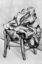 Drapery on a Chair, c.1980/00 by Cezanne | Painting Reproduction