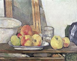 Still Life with Open Drawer, c.1877/79 by Cezanne | Painting Reproduction