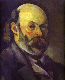 Self-Portrait, c.1879/85 by Cezanne | Painting Reproduction