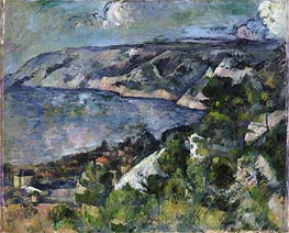 Bay of l'Estaque | Cezanne | Painting Reproduction