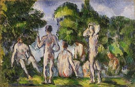 Group of Bathers | Cezanne | Painting Reproduction