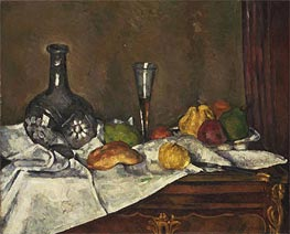 Still Life with a Dessert | Cezanne | Painting Reproduction