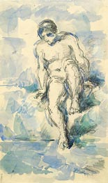 Bather | Cezanne | Painting Reproduction