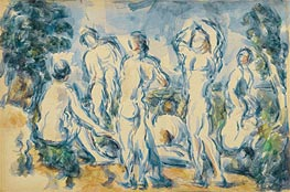 Bathers | Cezanne | Painting Reproduction