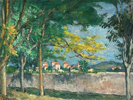 The Road | Cezanne | Painting Reproduction