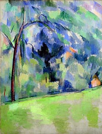 Morning in Provence | Cezanne | Painting Reproduction