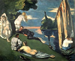 Pastoral or Idyll | Cezanne | Painting Reproduction