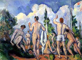 The Bathers | Cezanne | Painting Reproduction