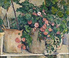Still Life with Petunia | Cezanne | Painting Reproduction