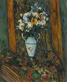 Vase of Flowers, c.1900/03 by Cezanne | Painting Reproduction