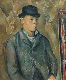 The Artist's Son, Paul, c.1886/87 by Cezanne | Painting Reproduction