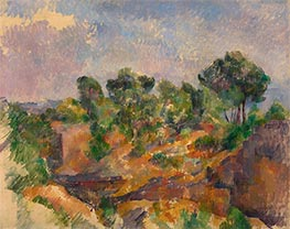 Bibemus, c.1894/95 by Cezanne | Painting Reproduction