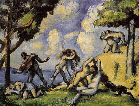 The Battle of Love, I, c.1879/80 | Cezanne | Painting Reproduction