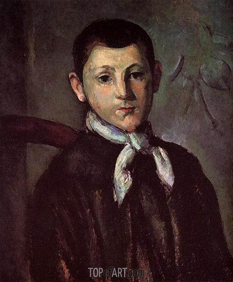 Portrait of Louis Guillaume, c.1882 | Cezanne | Painting Reproduction