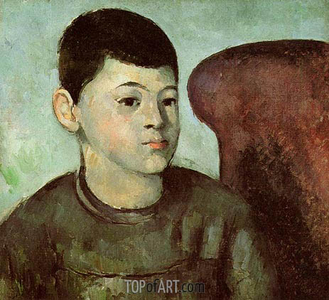 Portrait of Paul Cezanne, the Artist's Son, c.1883/85 | Cezanne | Painting Reproduction
