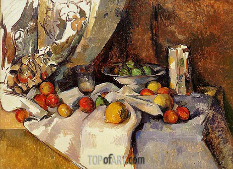 Still Life with Apples, c.1895/98 | Cezanne | Painting Reproduction