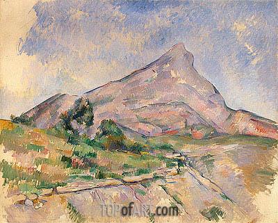 Mount Sainte-Victoire, c.1897/98 | Cezanne | Painting Reproduction