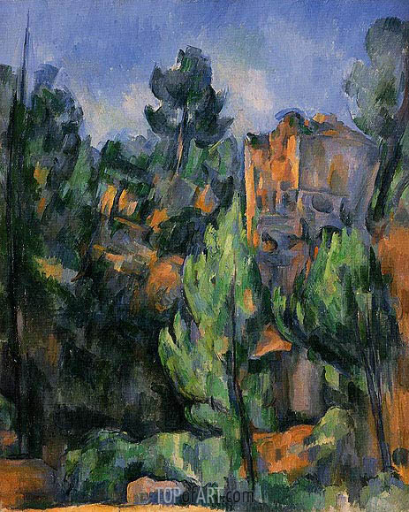 The Bibemus Quarry, c.1898 | Cezanne | Painting Reproduction