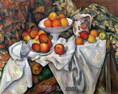 Apples and Oranges, c.1895/00 | Cezanne | Painting Reproduction