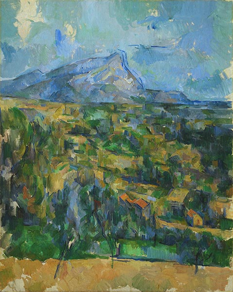 Mont Sainte-Victoire, c.1902 | Cezanne | Painting Reproduction