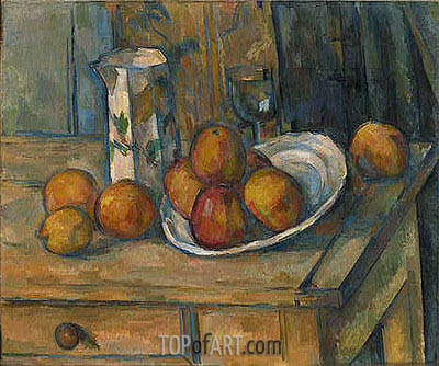 Still Life, c.1890 | Cezanne | Painting Reproduction