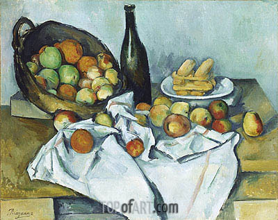 The Basket of Apples, c.1893 | Cezanne | Painting Reproduction