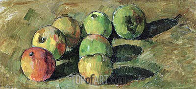 Still Life with Apples, 1878 | Cezanne | Painting Reproduction