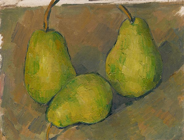 Three Pears, c.1878/79 | Cezanne | Painting Reproduction