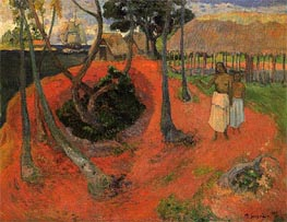 Idyll in Tahiti, 1901 by Gauguin | Painting Reproduction