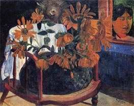 Sunflowers, 1901 by Gauguin | Painting Reproduction