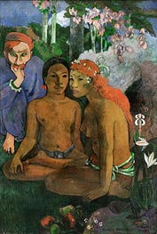 Conted Barbares (Primitive Tales), 1902 by Gauguin | Painting Reproduction