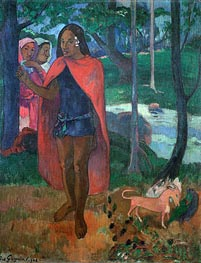 The Magician of Hivaoa, 1902 von Gauguin | Gemälde-Reproduktion