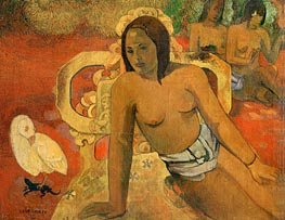 Vairumati, 1897 by Gauguin | Painting Reproduction