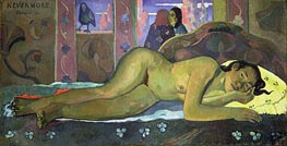 Nevermore, Oh Tahiti, 1897 by Gauguin | Painting Reproduction