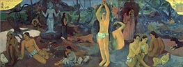 Where do We Come From. What are We Doing. Where Are We Going. | Gauguin | Gemälde Reproduktion