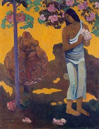 The Month of Mary (Te avae no Maria), 1899 by Gauguin | Painting Reproduction