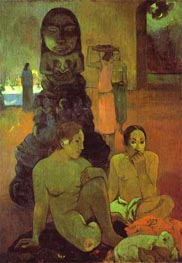 The Great Buddha, 1899 by Gauguin | Painting Reproduction