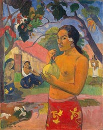 Where Are You Going (Eu haere ia oe), 1893 von Gauguin | Gemälde-Reproduktion