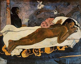 Manao Tupapau (Spirit of the Dead Watching), 1892 von Gauguin | Gemälde-Reproduktion