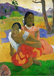 Nafeaffaa Ipolpo (When Will You Marry) | Gauguin | Painting Reproduction